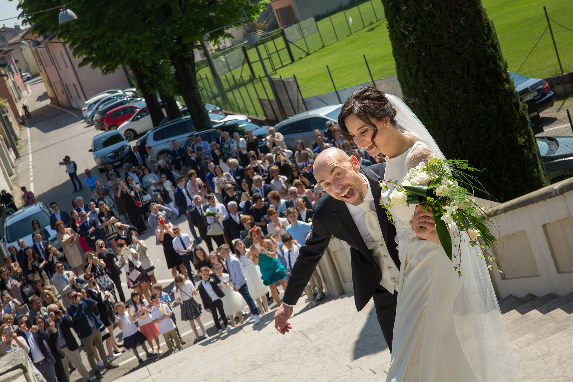 Matrimonio Chiara & Nicola a Dogana Veneta, Lazise (VR) - L'Uomo Griffe Boutique