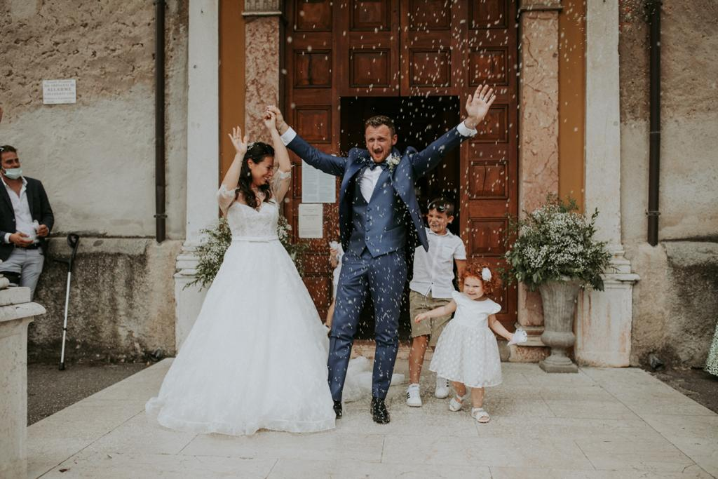 Matrimonio Davide & Lara a Rocca di Lonato - L'Uomo Griffe Boutique